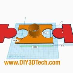 LaserFume.jpg Download free STL file K40 eBay Laser Fume Vent • 3D printer model, DIY3DTech