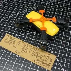 P1020739.JPG Télécharger fichier STL gratuit DJI Spark Prop Holder ! • Plan pour impression 3D, DIY3DTech