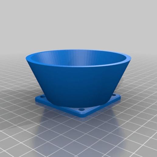 e4ea4425be35d78f47b76e4355329fcd.png Download free STL file Wanhao & Tevo Tarantula 30mm Fan to 50mm Fan Adapter • 3D printable design, DIY3DTech
