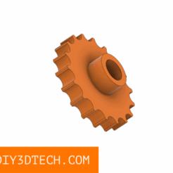 TV_G8_Lens_Holder_v1.png Download free STL file Ortur Laser - 3D Printable Lens Holder and Focus Knob! • 3D printable object, DIY3DTech