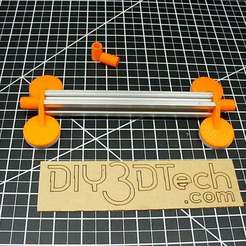 Download free STL file 20 x 20 Maker Rail V-Slot Locking Foot! • Design to 3D print, DIY3DTech