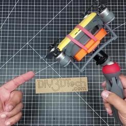 SnapShot1.jpg Télécharger fichier STL gratuit DJI Spark Mount pour Vlogging ! • Objet à imprimer en 3D, DIY3DTech