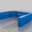 Download free SCAD file 40 Watt CO2 Laser Tube Clip Remix • 3D printer object, DIY3DTech