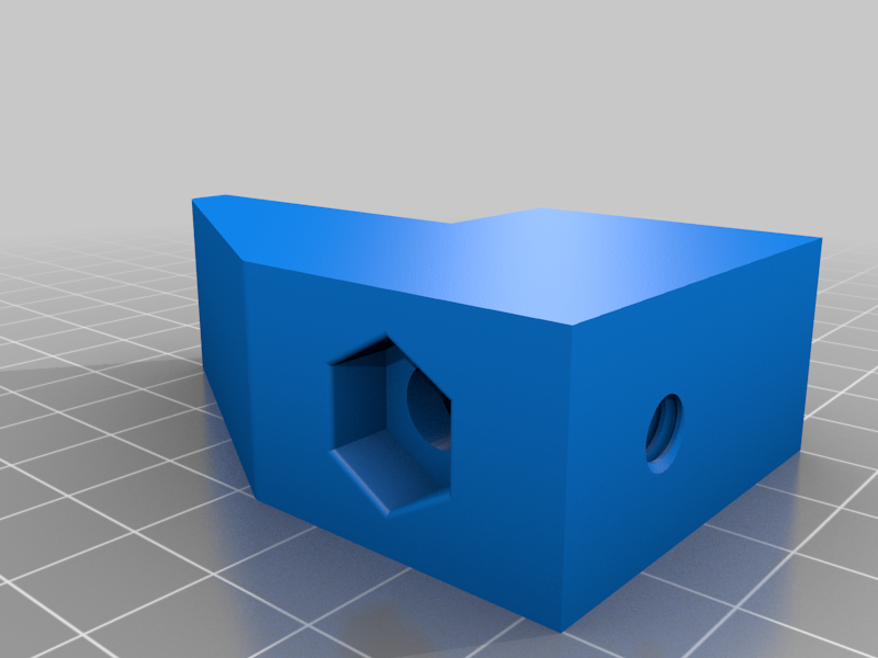 Clamp_01.png Download free STL file 1/4-20 Heavy Duty Clamp! • Model to 3D print, DIY3DTech