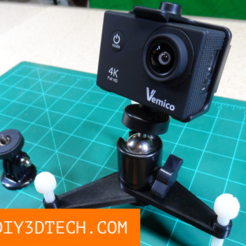 Download free 3D printer designs Spider Leg B-Roll Camera Stand!, DIY3DTech