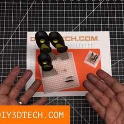 Download free STL The Ultimate Widget!, DIY3DTech