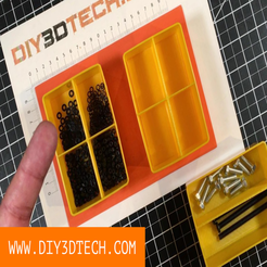 DIY3DTech_HarborFeight_Divider_01.png Download free STL file HarborFreight Bin Dividers! • 3D printable model, DIY3DTech