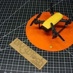 P1020750.JPG Télécharger fichier STL gratuit La rampe de lancement de DJI Spark avec Level ! • Plan à imprimer en 3D, DIY3DTech