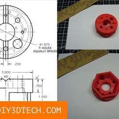 Bench_Block_03.jpg Télécharger fichier STL gratuit Ce paresseux machiniste de banc ! • Plan à imprimer en 3D, DIY3DTech