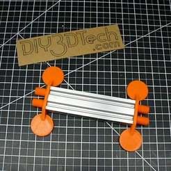 P1020891.JPG Download free STL file 20 x 40 Maker Rail V-Slot Legs! • 3D print object, DIY3DTech