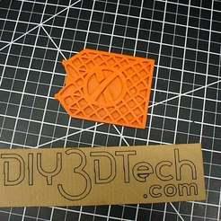 Télécharger fichier impression 3D gratuit Space X Grid-Fin Coaster Trivet Thingamajig !, DIY3DTech