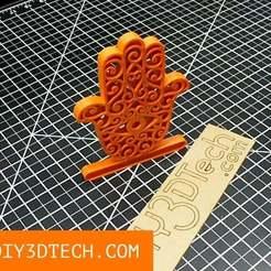Hand.jpg Télécharger fichier STL gratuit L'art de la main du mauvais œil ! • Modèle imprimable en 3D, DIY3DTech