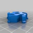 """Télécharger fichier STL gratuit Adaptateur de moyeu de bobine pour convertir une tige de 1,25"""" en 0,25 • Modèle à imprimer en 3D, DIY3DTech"""