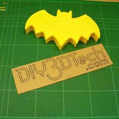 P1020403.JPG Download free STL file Bat Gift Box - Halloween Special! • 3D print model, DIY3DTech