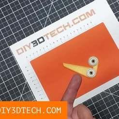 Download free 3D model 608zz Bearing Center Finder!, DIY3DTech
