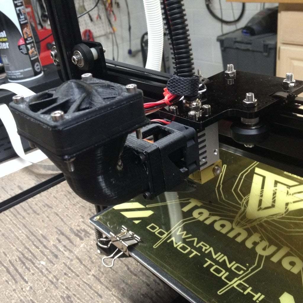 6.jpg Download free STL file Wanhao & Tevo Tarantula 30mm Fan to 50mm Fan Adapter • 3D printable design, DIY3DTech