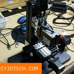 DIY3DTech_MicroMill_06.png Télécharger fichier STL gratuit Fichiers de projet MicroMill CNC RetroFit ! • Design imprimable en 3D, DIY3DTech