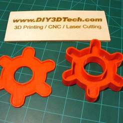 Download free 3D printer designs Gear Gift Box!, DIY3DTech