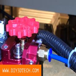 DIY3DTech_Extruder_Knob_01.png Télécharger fichier STL gratuit Bouton d'extrudeuse avec M3 ! • Modèle pour impression 3D, DIY3DTech