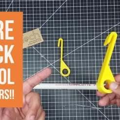 WireRack_Spool_Holders.jpg Télécharger fichier STL gratuit Porte-bobines de filaments ! • Design imprimable en 3D, DIY3DTech