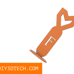 Download free 3D printer designs Fun-Bomb Desktop Toy!, DIY3DTech