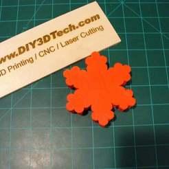P1020386.JPG Download free STL file Snowflake Gift Box! • 3D printer design, DIY3DTech