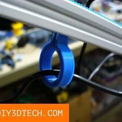 Geargrip_Clip_02.jpg Télécharger fichier STL gratuit Gripgear Slider Rail Clip ! • Design pour imprimante 3D, DIY3DTech