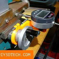 YZxis_TV_01.jpg Download free STL file Chinese Mini-Lathe Y Axis DRO! • 3D printable model, DIY3DTech