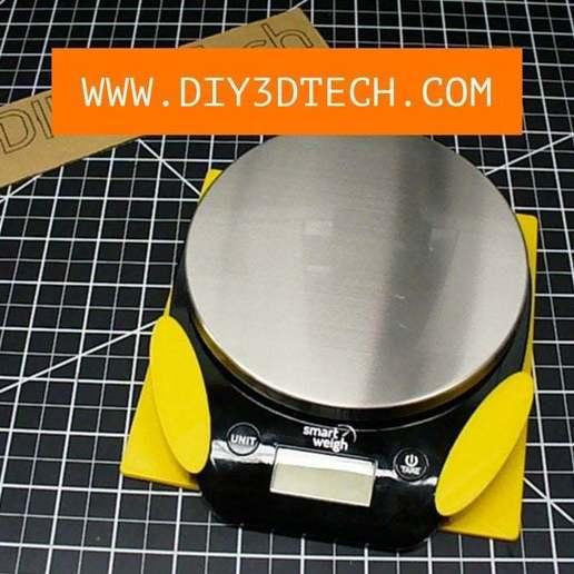 Télécharger fichier STL gratuit Mur d'échelle de cuisine et support de chevilles ! • Modèle pour impression 3D, DIY3DTech