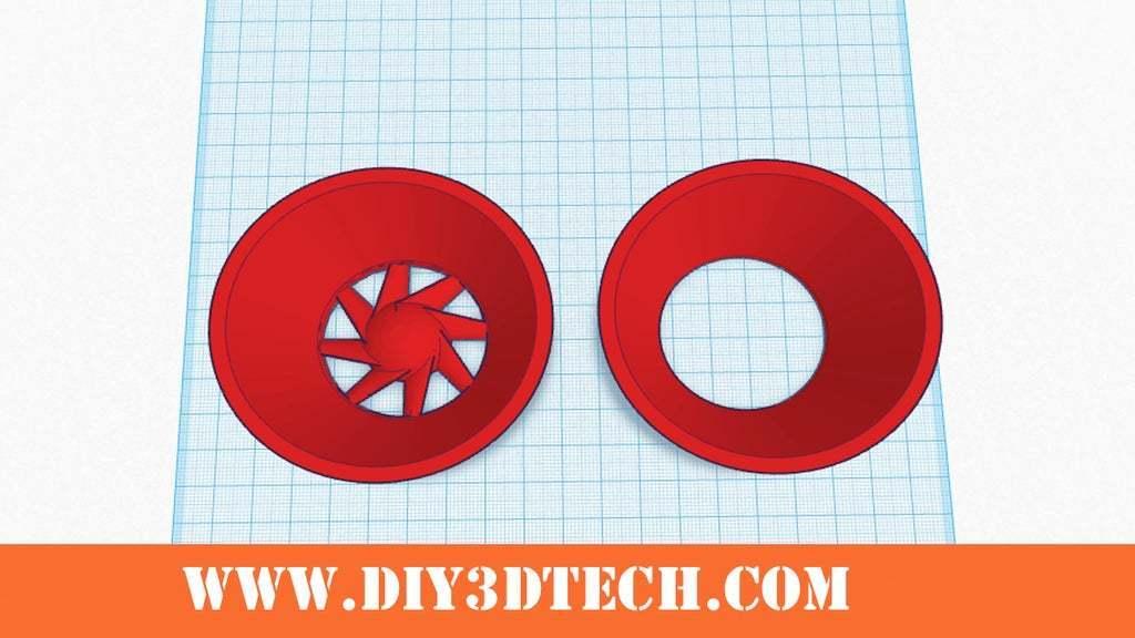 50mm_Velocity_Stack.jpg Download free STL file Wanhao & Tevo Tarantula 30mm Fan to 50mm Fan Adapter • 3D printable design, DIY3DTech