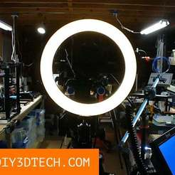 Download free 3D printing files Ring Light, DIY3DTech