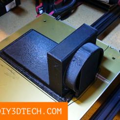 DIY3DTech_Laser_Duct_01.png Download free STL file eBay CO2 Laser Exhaust Duct (4 inch) • 3D print design, DIY3DTech