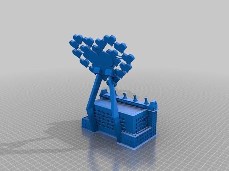 2297f8280cf6c4cf0a6674b52fd40923.png Download free STL file Love heart mobile phone stand. • 3D print model, technicsorganman