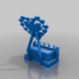Télécharger fichier imprimante 3D gratuit Support de téléphone portable Love Heart., technicsorganman