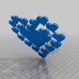 Download free 3D print files Love heart mobile phone stand., technicsorganman