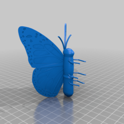 butterfly.png Download free STL file Butterfly • 3D printer model, technicsorganman