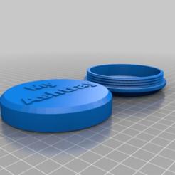 Télécharger plan imprimante 3D gatuit Cendrier de poche, technicsorganman
