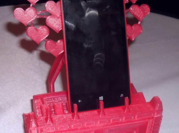 pic1.jpg Download free STL file Love heart mobile phone stand. • 3D print model, technicsorganman