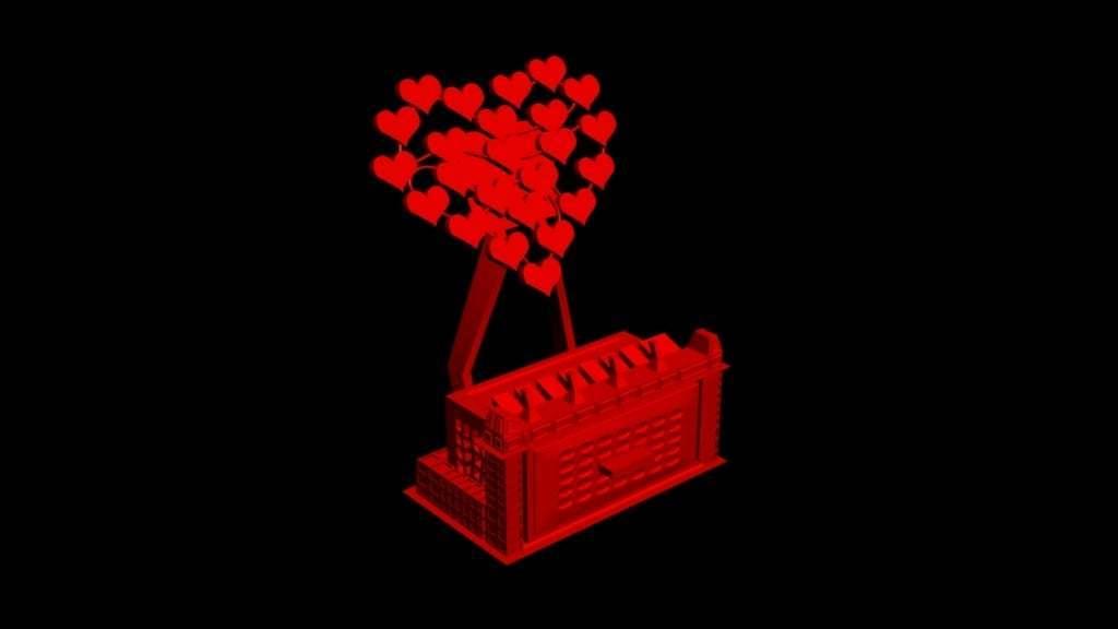 stand.jpg Download free STL file Love heart mobile phone stand. • 3D print model, technicsorganman