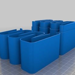 Download free 3D printing files My Customized Battery Dispenser -, technicsorganman