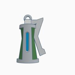 Imprimir en 3D Fortnite llavero granada/grenade keychain v. 1.0, Spiderflash3D