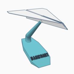 Descargar modelos 3D para imprimir Simple paper plane, Spiderflash3D