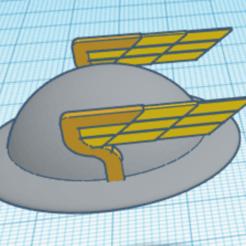 Download 3D printer files Jay Garrick pin, Spiderflash3D