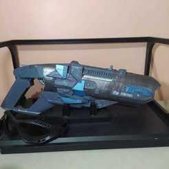 coldgun principal.jpeg Download STL file Leonard Snart's Cold Gun • 3D printable model, Spiderflash3D