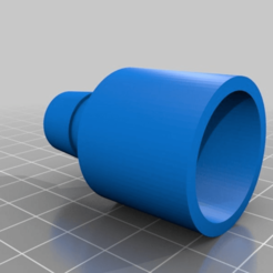 Download free 3D printer files Coleman Quickpump Pump Connector to 5/8 Tube, markwinap