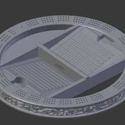 Capture.JPG Download free STL file Filigree Cribbage Board WIP • Template to 3D print, Mehdals