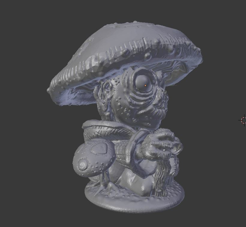 forest_gnome_6.JPG Download STL file Forest Gnome • 3D printer model, Mehdals