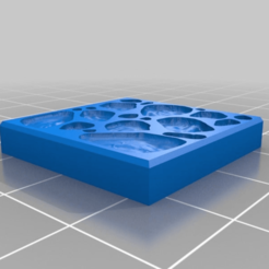 Download free 3D printer templates 25mm Dungeon Tile Molds for Bakeable Clay V2, Mehdals