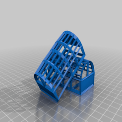 lobster_cages.png Download free STL file Lobster Cages for Shrimp/Fish Tank • 3D print object, Mehdals