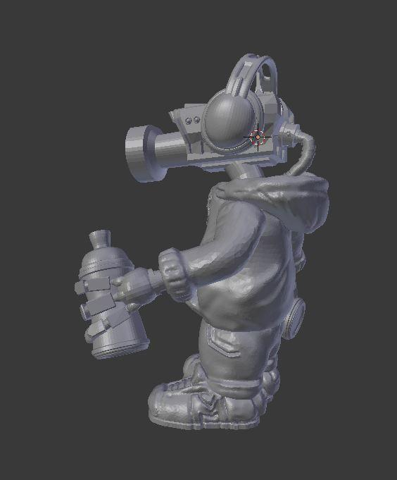 Capture_2.JPG Télécharger fichier STL gratuit CCTV Punk par Mehdals • Objet à imprimer en 3D, Mehdals